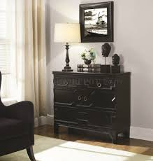 Coaster Curio Cabinet Assembly Instructions by 950903 Accent Cabinet In Black By Coaster W Geometric Pattern