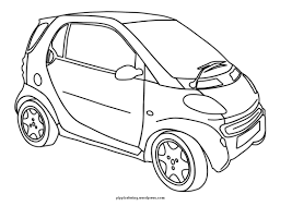 Cartoon Car Coloring Pages Cars Selopamioro