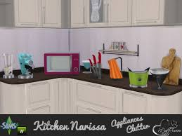 The Sims Resource Appliances And Clutter Narissa By BuffSumm