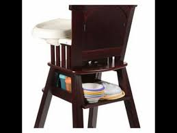 Ed Bauer Wood High Chair Ed Bauer All Wood High Chair Garden