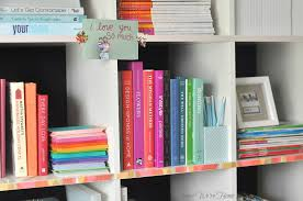 Washi Tape Bookshelf | Honey We're Home Niche Modern Featured In New Design Sponge Book Before After A Dated Basement Family Room Gets A Bright White Exploring Nostalgia In An Airy La Craftsman Bungalow Designsponge Charleston Artist Lulie Wallaces Dtown Single House Featured Ontario Home Filled With Art Light And Love This Is One Way I Deal With Stress Practical Wedding At Grace Bonney 9781579654313 Amazoncom Books The Best And Coolest Diy Bookends That You Have To See Lotus Blog Interior Pating Popular Fresh 22 Pieces For Sunny Outlook During Grey Days At Work Review Decorating For Real Life Shabby Nest