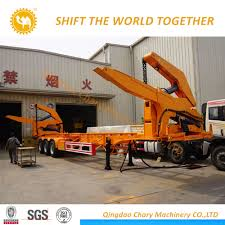 China 20FT/40FT Self-Loading Container Trailer/Sidelifter/Sideloader ... Self Loader Log Trucks For Sale Bc Best Truck Resource 2015 Serco 160 Forestry Equipment Spokane Wa 8537902 Alberta Loaders Knucklebooms Rotary Group Study Exchange 2010 2011 Kenworth T800b Logging Truck For Farming Simulator 2017 Hyva Cporate Mounted Cranes 1988 T800 Logging 541706 Miles Home Adk Forestech And Roadbuilding Specialist Dodge Ram 4500 Wrecker Tow Truck For Sale 1409