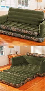 Intex Inflatable Pull Out Sofa by Intex Inflatable Realtree Camo Print Queen Size Pull Out Sofa Bed