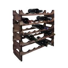 Furniture Modular Wine Rack Awesome 30 Bottle Pine Modular Wine