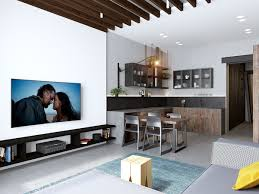100 Flat Interior Design Images Handsome Small Apartments With Open Concept Layouts