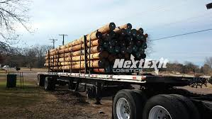 Telephone Pole & Pilings Transportation - Next Exit Logistics
