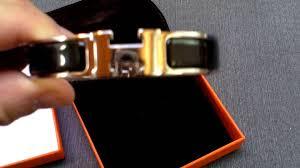 hermes h bracelet clic clac black gm