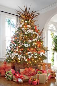 75 Flocked Christmas Tree by How To Flock A Christmas Tree In 8 Simple Steps Southern Living