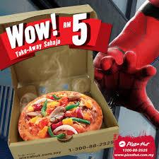 Pizza Hut : Woe Deals RM5 Personal Pizza - Food & Beverages ...