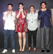 SRK Kajol Varun Dhawan Kriti Sanon Bollywood Bubble