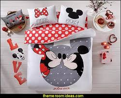 Minnie Mouse Bed Decor by Decorating Theme Bedrooms Maries Manor Mickey Mouse Bedroom