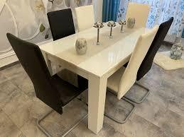 esszimmer komplett mit 6 stühle