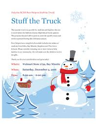 Event - Help BCHS Peer Helpers Stuff The Truck!