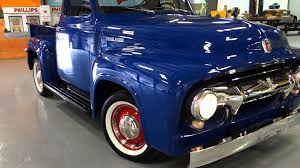 1954 Ford F-100 Pickup Truck - YouTube 1954 F100 Old School New Way Cool Modified Mustangs 54 Ford Trucks Pinterest And Classic White Lightning Sema 2014 Youtube V8 302 Metal Pickup Sign Dads Shop Open 24 Hrs Gift For Him By Tburg Nice Wheels Dean Jacksons Hot Rod Republic Bm Racing Products On Twitter This Bagged Blown 1951 F1 Cars 60year Itch Truck Truckin Magazine Sale Classiccarscom Cc987291