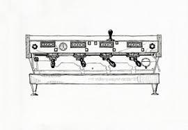 Coffee Machine Drawings