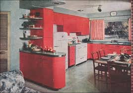 1950s Kitchen Decor 1950 Design Retro