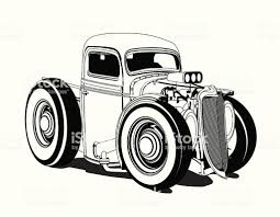 Cartoon Hot Rod Pickup Black And White Stock Vector Art & More ... Old American Blue Pickup Truck Vector Illustration Of Two Cartoon Vintage Pickup Truck Outline Drawings One Red And Blue Icon Cartoon Stock Juliarstudio 146053963 Cattle Car Farming Delivery Riding Car Royalty Free Image Cute Driving With A Christmas Tree Art Isolated On Trucks Download Clip On 3 3d Model 15 Obj Oth Max Fbx 3ds Free3d White Background
