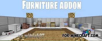 Furniture mod v6 for Minecraft PE 0 11 0 13