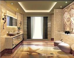 großhandel bad tapete sunset strand seestern muscheln badezimmer 3d boden vinyl böden badezimmer chinamural2015 23 8 auf de dhgate dhgate