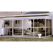 patio mate white 17 1 l x 8 6 w screened enclosure bjs wholesale