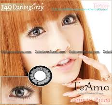 Prescription Contact Lenses Halloween Australia by Teamo Darling Grey Contact Lens Pair G202 Grey 19 99