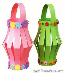 Pastel Colored Paper Lanterns