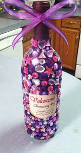 Decorative Wine Bottles Ideas by Best 25 Bedazzled Bottle Ideas Only On Pinterest 21st Gifts