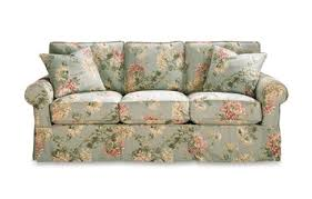 nantucket 3 seat queen sleeper sofa with slipcover by rowe