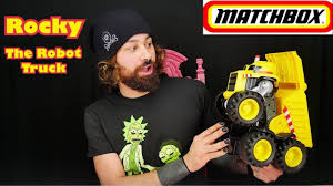 Rocky Does What?! Interactive Matchbox Rocky The Robot Truck By ... Matchbox Rocky The Robot Truck Sounds And Interactions Youtube 814pcs Double E C51014w 2 In 1 Rc Mixer Building Blocks Kits Does What Interactive By New Tobot Athlon Mini Rocky Transformer Excavator Car T Stinky Garbage Save 35 Today The Dump Toy Talking Mattel Pop Rides Deadpools Chimichanga Deadpool Catalog Funko 1903638801 Deluxe Walmartcom Paw Patrol Sea Light Up Teenage Mutant Ninja Turtles