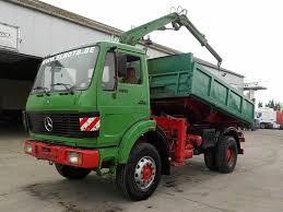 100 4x4 Dump Truck For Sale MERCEDESBENZ SK 1622 BIG AXLE 4X4 STEEL CRANE V6 Dump