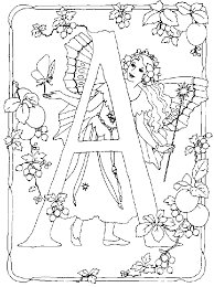 And More Of These Coloring Pages Alfabet Elfjes Alphabet Animals Diddl Flowers With Funny