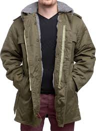 Czech parka with liner olive green surplus