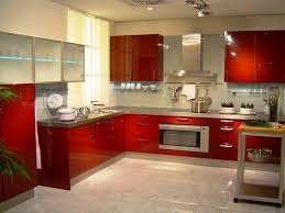 KitchenRed Kitchen Decorating Ideas Colourful Design Inspirational For