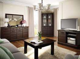hochwertige wohnwand schrankwand wohnzimmer möbel lagos iii venge led kommode spiegel eckregal tv board
