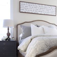 Fall Bedroom Decor Above The Bed Sign