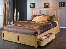 Great King Size Bed Frame with Storage — Modern Storage Twin Bed