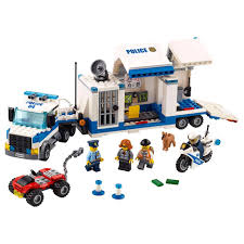 100 Lego City Tow Truck LEGO Police Mobile Command Center 60139 Target