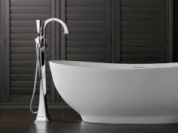 Delta Floor Mount Tub Faucet by Virage Tub Filler Torrco Design