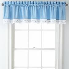 Simply Shabby Chic Curtains Pink Faux Silk by Blue Floral Roselle Valance 80 Liked On Polyvore Featuring