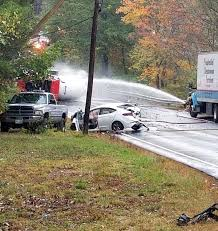 100 Propane Truck Explosion Local Woman Hospitalized Propane Tank Leaks After Crash In