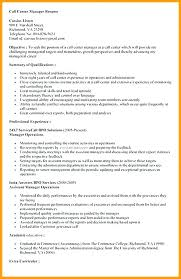 Call Center Supervisor Resume Unique Objective Examples For Position Fruityidea