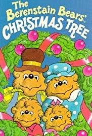The Berenstain Bears Christmas Tree Poster