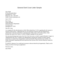 Writing A General Cover Letter For Resume Resume Papers