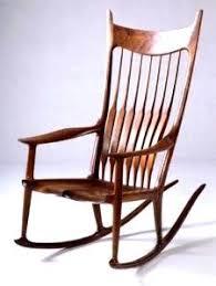 Sam Maloof Rocking Chair Plans by Sam Maloof Style Rocking Chair By Bkap Lumberjocks Com