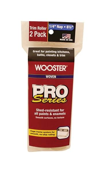 "Wooster Roller Cover - 1/4"" x 6 1/2"""