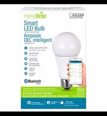 canadian tire 19 99 homebrite smart led bulb 60w w bt
