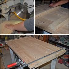 Build Large Coffee Table by Remodelaholic Diy Simple Wood Slab Coffee Table