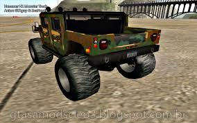Hummer H1 Monster Truck By GTAguy & SeaNorris | Gta San Andreas Mods ... Hilarious Gta San Andreas Cheats Jetpack Girl Magnet More Bmw M5 E34 Monster Truck For Gta San Andreas Back View Car Bmwcase Gmc For 1974 Dodge Monaco Fixed Vanilla Vehicles Gtaforums Sa Wiki Fandom Powered By Wikia Amc Pacer Replacement Of Monsterdff In 53 File Walkthrough Mission 67 Interdiction Hd 5 Bravado Gauntlet