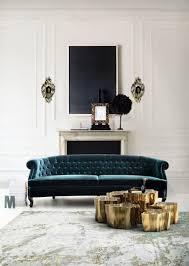 Tufted Velvet Sofa Toronto by Samara Blue Ink Velvet Sofa