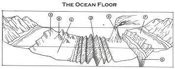 Sea Floor Spreading Model Worksheet Answers by Flooring Ocean Floor Diagram Outstandinghoto Inspirations Oceans